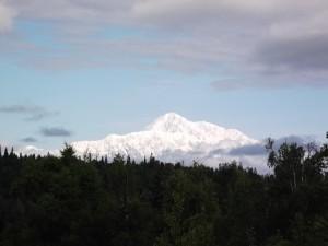 Picture of Mt. McKinley (Mt. Denali for Alaskans)
